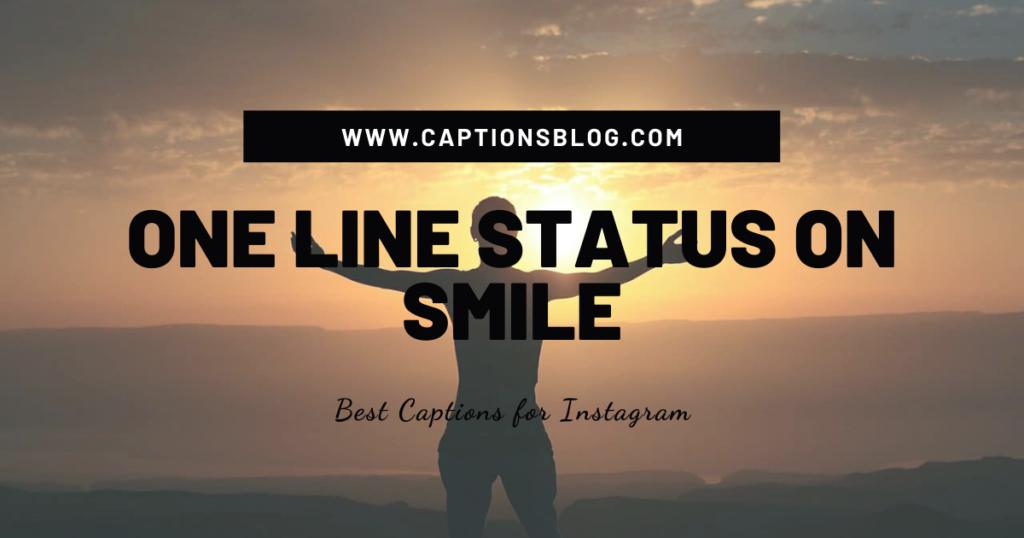 One Line Status On Smile