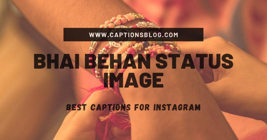 Bhai Behan Status Image