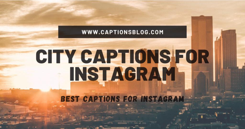 City View Captions